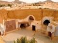 """""""Trốn nóng"""" trong những ngôi nhà ẩn mình dưới mặt đất ở Tunisia"""