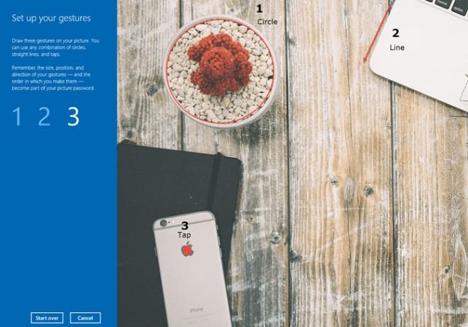 Cách thiết lập mật khẩu bằng hình ảnh cho Windows 10 - 5