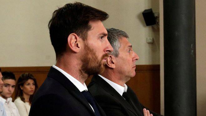 Kháng cáo bất thành, Messi y án tù 21 tháng trốn thuế - 1