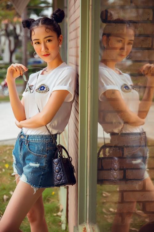 Gái đẹp xứ Huế gợi ý style soóc ngắn thay cho áo dài thùy mị - 3