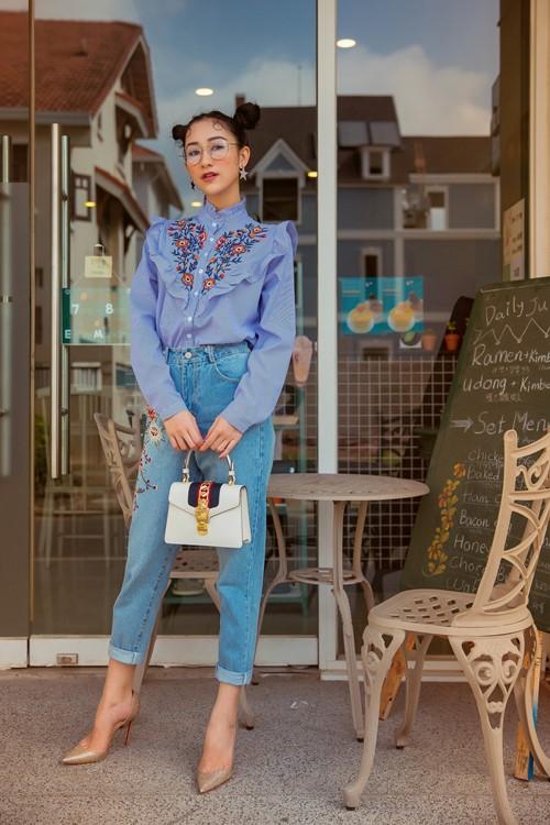 Gái đẹp xứ Huế gợi ý style soóc ngắn thay cho áo dài thùy mị - 4