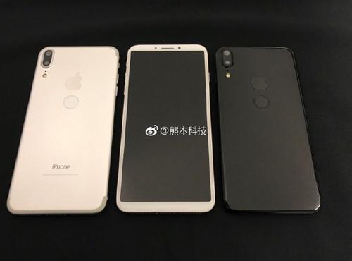 Phát rồ trước hình ảnh xấu xí của iPhone 8 - 1