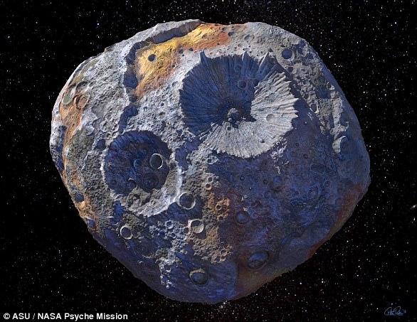 NASA muốn kéo thiên thạch khổng lồ 200 km về Trái đất - 1