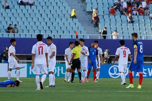 Chi tiết U20 Việt Nam – U20 Pháp: Tiến Dũng xuất thần (KT) - 8