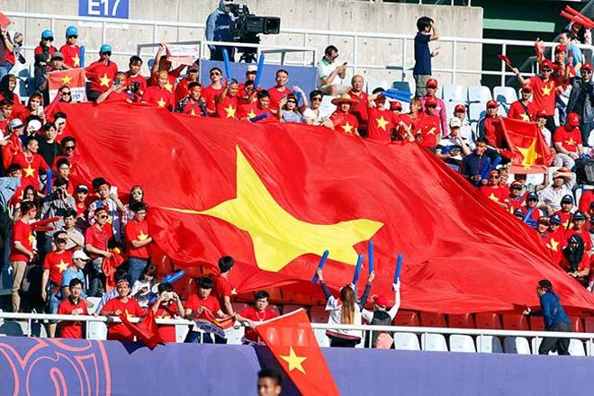 Thiếu nữ Hàn xinh tươi cổ vũ U20 Việt Nam đến phút cuối - 8