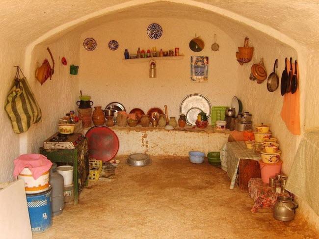 """""""Trốn nóng"""" trong những ngôi nhà ẩn mình dưới mặt đất ở Tunisia - 7"""