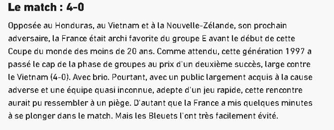 Thua đậm U20 Pháp, thủ môn U20 Việt Nam vẫn được báo Tây khen - 3