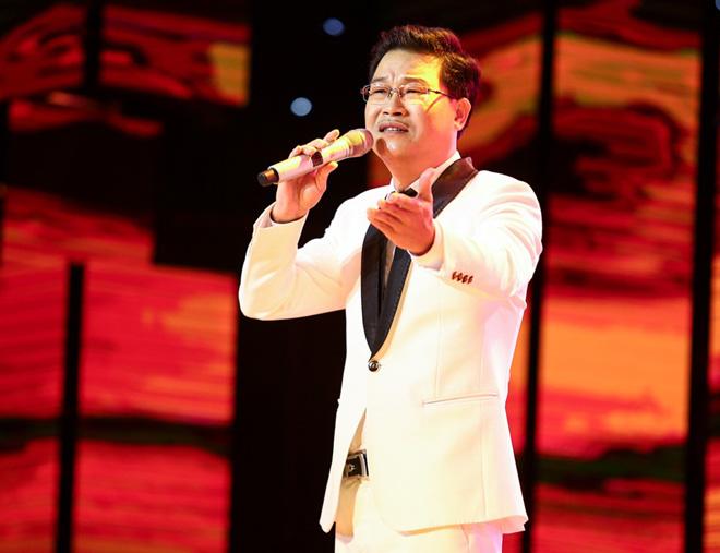 Ngọc Sơn, Quang Lê bật khóc nức nở trên sóng truyền hình - 1