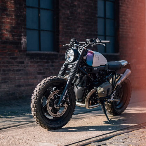 JvB-Moto BMW R nineT Scrambler: Hiện đại và hầm hố - 3