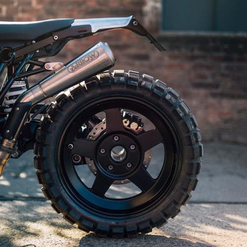 JvB-Moto BMW R nineT Scrambler: Hiện đại và hầm hố - 8