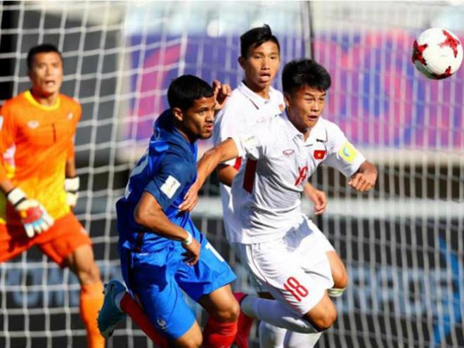 U-20 Việt Nam-U-20 Pháp (0-4): Thua thế còn ít! - 1