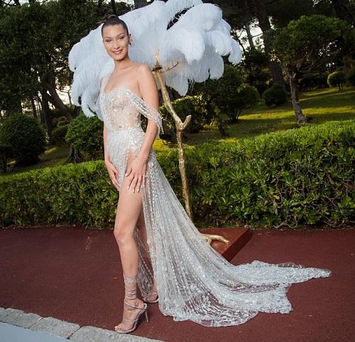 """Kiều nữ """"hot"""" nhất Hollywood mặc váy trong suốt gây sốc - 6"""