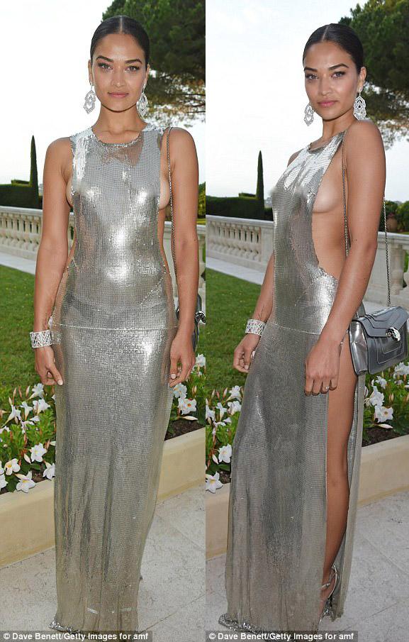"""Kiều nữ """"hot"""" nhất Hollywood mặc váy trong suốt gây sốc - 10"""
