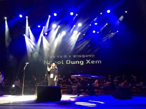 Dương Hoàng Yến là đại diện VN duy nhất dự lễ hội âm nhạc tại Hàn - 2