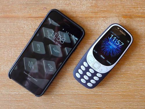 Nokia 3310 đọ camera iPhone 7: Đâu là trứng, đâu là đá? - 1