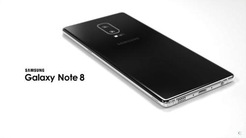 Lộ video màn hình Galaxy Note 8 - 1