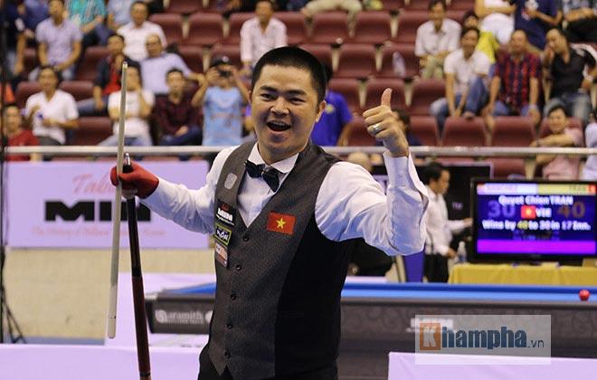 Bi-a: Đi cơ 16 điểm, cơ thủ Việt hạ knock-out số 2 thế giới - 1