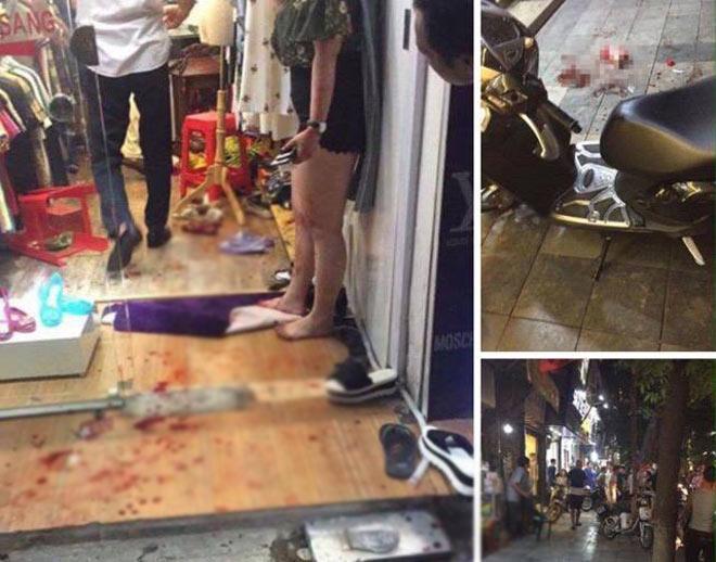 """Chủ shop quần áo kể lại phút """"chiến đấu"""" với kẻ truy sát vợ ở Hàng Bông - 2"""
