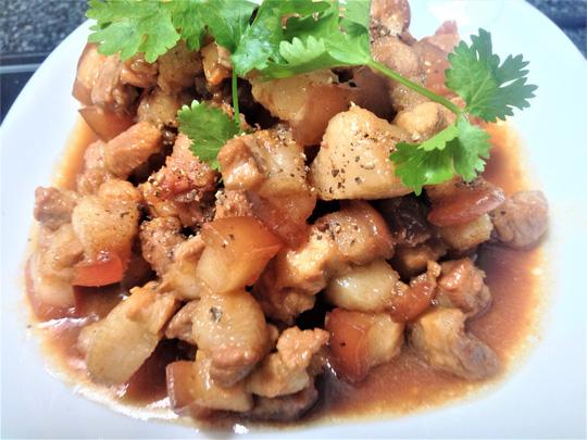 Bữa cơm giản dị với thịt kho tiêu và canh mướp cho ngày tan làm muộn - 5