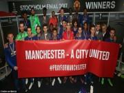 Bóng đá - MU không rước cúp, bắt tay Man City cứu trợ Manchester
