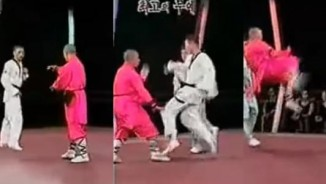 """MMA: Thiếu Lâm hạ Taekwondo, triệu người """"phát sốt"""""""