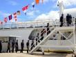 Cảnh sát biển Việt Nam nhận tàu tuần duyên từ Mỹ