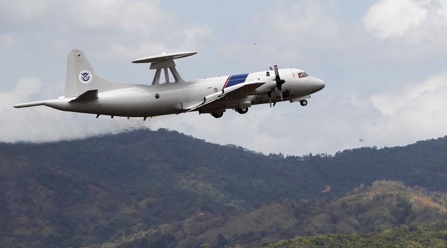 """Chiến đấu cơ TQ chặn """"không an toàn"""" máy bay săn ngầm Mỹ - 1"""