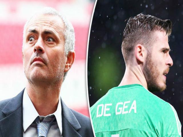 """Mourinho dùng De Gea làm """"mồi nhử"""": Câu 4 """"Sao bự"""" Real"""