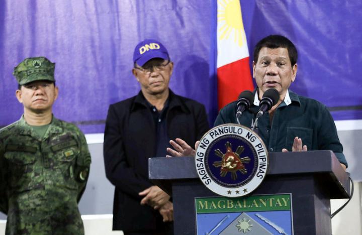 """IS chiếm TP, Duterte nói sẽ dùng """"biện pháp mạnh"""" - 1"""