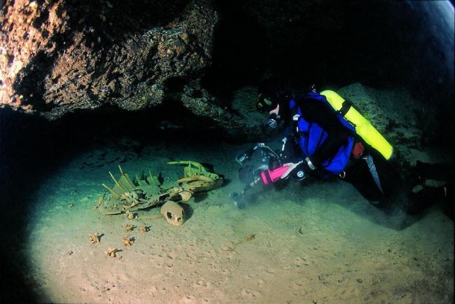 Tận thấy nghĩa địa rùa trong hang động bí ẩn dưới đáy biển - 3