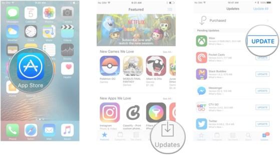 Sửa lỗi không thể cập nhật ứng dụng trên iPhone - 2