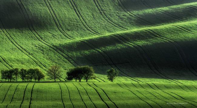 Moravia là vùng đất lịch sử nổi tiếng với nhiều phong cảnh đẹp ở miền nam Cộng hòa Czech.
