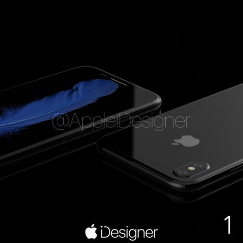 Ngắm bộ ảnh concept long lanh nhất của iPhone 8 - 4