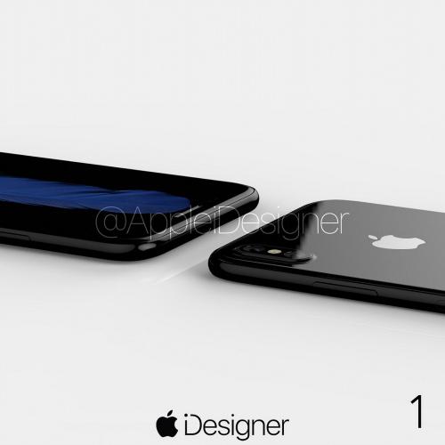 Ngắm bộ ảnh concept long lanh nhất của iPhone 8 - 5