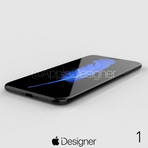 Ngắm bộ ảnh concept long lanh nhất của iPhone 8 - 2