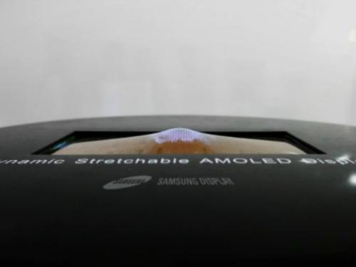 Samsung sắp trình làng màn hình OLED có khả năng co giãn - 1