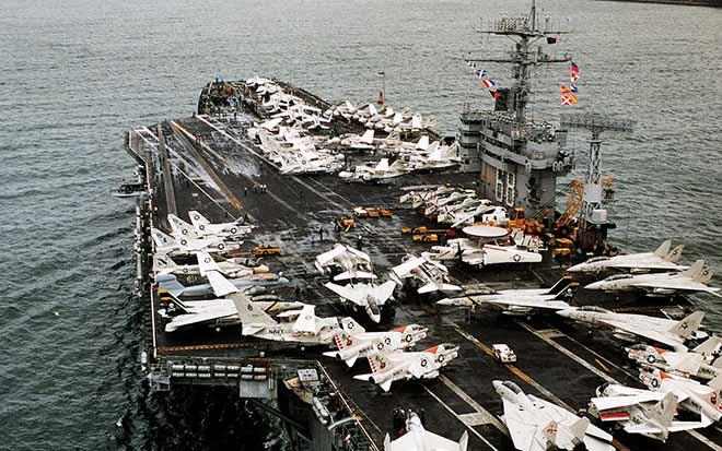 Mỹ điều siêu tàu sân bay hạt nhân thứ 3 răn đe Triều Tiên - 1
