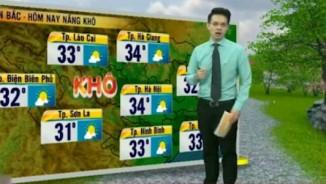 Dự báo thời tiết VTV 27/5: Bắc Bộ nắng khô, Nam Bộ mưa ẩm