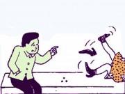 Truyện tranh: Vì sao đi bia ôm lại phải... ôm?