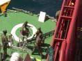 """Thế giới - Video đặc nhiệm Nga """"đột kích"""" tàu hàng, giải cứu con tin"""