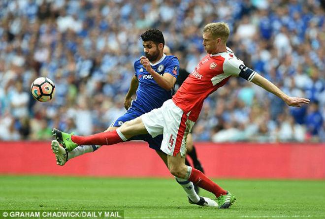 Arsenal - Chelsea: Choáng ngợp 38 giây đoạt Cúp - 1