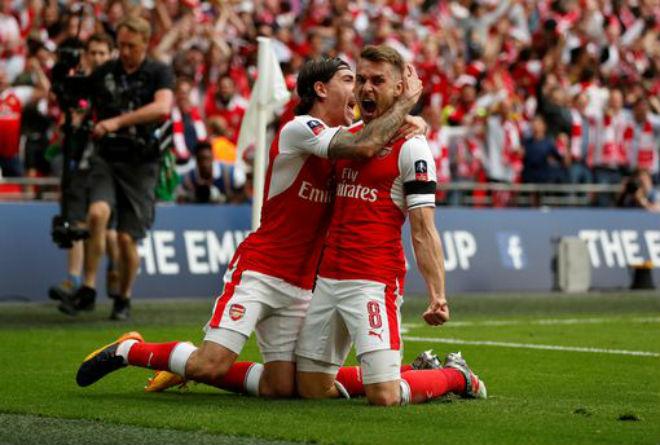 Wenger rạng ngời đi vào sử sách FA cup, ở lại Arsenal 2 năm - 9