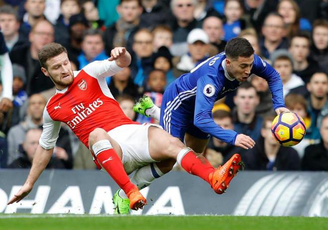 """Góc chiến thuật Arsenal–Chelsea: Wenger """"chơi liều"""" đo ván Conte - 2"""