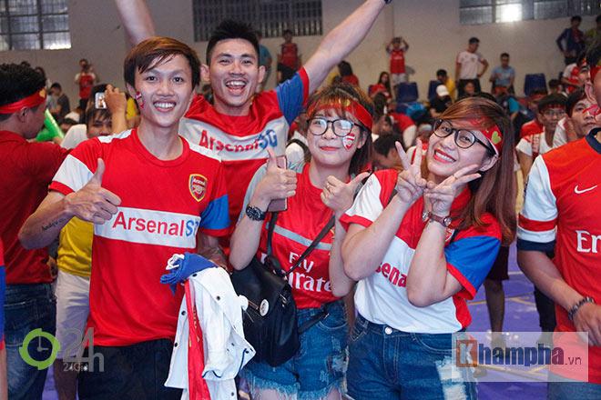 """Arsenal vô địch FA Cup, """"giáo sư"""" Wenger lại được fan Việt tin tưởng - 5"""