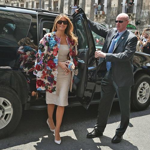 """""""Ngất"""" với chiếc áo khoác trị giá cả căn nhà của vợ ông Trump - 1"""