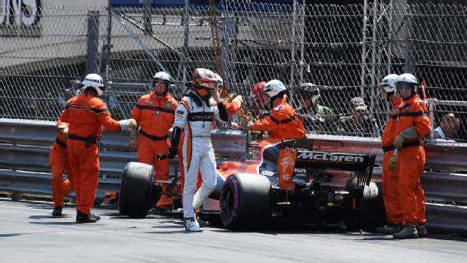 Đua xe F1 - Phân hạng Monaco GP: Thảm họa cho nhà cựu vô địch - 2