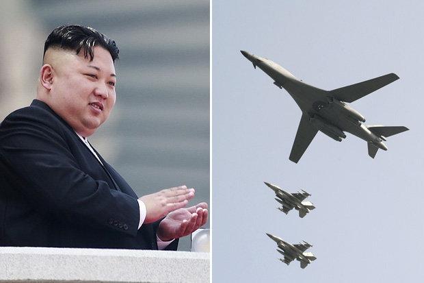 """Triều Tiên dọa """"phá hủy giấc mơ hoang dại"""" của máy bay Mỹ - 1"""