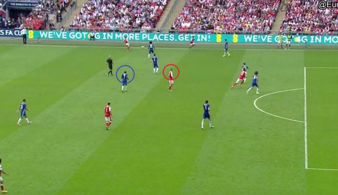 Chelsea thua Arsenal: 3-4-3, Conte lộ gót Achilles - 2