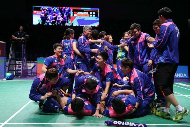 Tin thể thao HOT 28/5: Cầu lông Hàn Quốc tạo địa chấn ở Sudirman Cup - 1