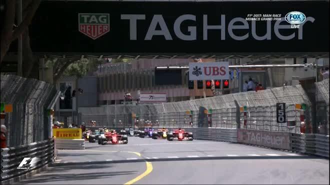 Video F1 – Monaco GP: Chiến thắng 1-2 ấn tượng